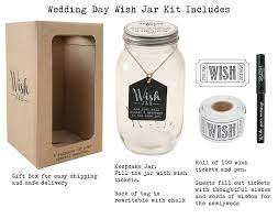 amazon com top shelf wedding wish jar unique and thoughtful