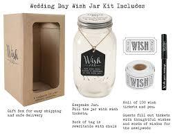 wedding wishes jar top shelf wedding wish jar kit comes with tickets decorative