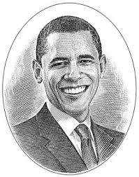 hedcuts wall street journal u0027s stipple portraits obama again