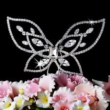 butterfly cake toppers butterfly cake topper bridal hair accessories