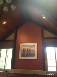 ceiling beams and ceiling need updating and painting advice