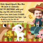 farm themed birthday invitations farm themed birthday party
