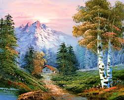 Mountain Landscape Paintings by Classic Mountain Landscape Crafting Painting Drawing Techniques