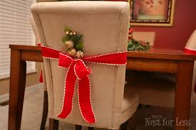 christmas chair covers project parson chair covers for christmas how to nest