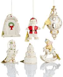 christmas ornament sets lenox christmas annual 2017 ornament collection