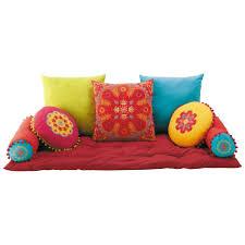 divano materasso maison du monde chambre coussin matelas banquette coussins matelas en coton