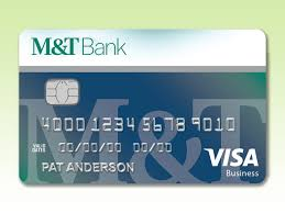 company cards m t visa company card business m t bank
