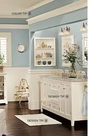 Pottery Barn Bathroom Ideas I The Cornice Idea Above The Mirror Humm Bathroom Color Bm