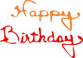 happy birthday october clipart clipartxtras