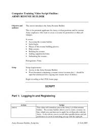 Army To Civilian Resume Examples by Army Resume Template Billybullock Us