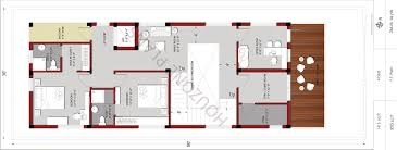 30 80 east facing 4 bedroom duplex house design u2013 houzone