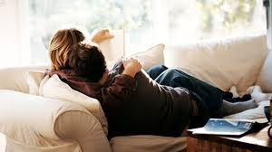 girls kissing in bed cuddling with your partner does something very surprising to your
