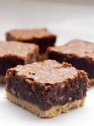 nutella salted shortbread brownies bake or break