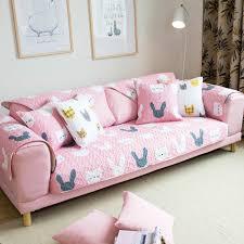non slip cover for leather sofa sofa cushion cotton cloth cushion cute cartoon custom modern simple