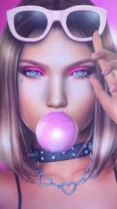 the daria hair exle 3d art artists background beautiful beautiful girl beauty