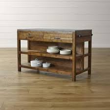 kitchen island cart with stools bluestone kitchen island crate and barrel living room
