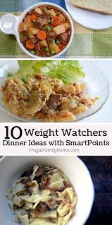 cuisine weight watchers 10 easy weight watchers recipes for dinner frugal family home
