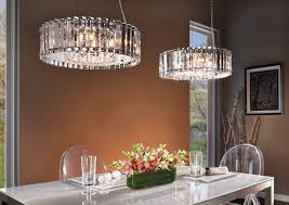 chandelier rectangular dining room lighting kichler chandeliers