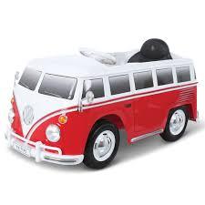 volkswagen bus the children u0027s ride on volkswagen bus hammacher schlemmer