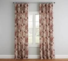 Patterned Curtains And Drapes Draperies U0026 Patterned Curtains Pottery Barn