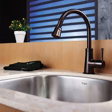 Oil Rubbed Bronze Faucet Kitchen by Stainless Steel Kitchen Sink Combination Kraususa Com