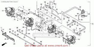 honda cbr parts honda cbr900rr 1993 p usa california carburetor assy