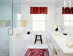 Bathroom Runner Rug Trend Alert Rugs In The Bathroom Mydomaine