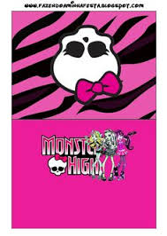 monster party game pin bow skull u0027t wait