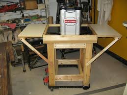 Woodworking Bench Top Thickness by Thickness Planer Stand By Mountainaxe Lumberjocks Com