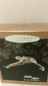 trek klingon bird of prey hallmark keepsake ornament 1994 ebay