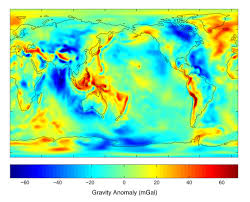 map of erth earth s gravity field image of the day