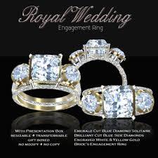 royal wedding ring second marketplace exquisite royal wedding engagement ring