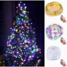 battery operated mini christmas lights leegoal indoor fairy 5m starry string lights 34ft 100 led 4aa
