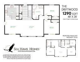apartments walk out basement plans eplans craftsman house plan