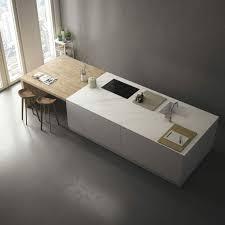plan de travail design cuisine photo cuisine avec plan de travail moderne en 65 idées