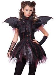 Vampire Halloween Costumes Kids Girls Incharacter Costumes Llc Girls 7 16 Gothic Vampira Gown