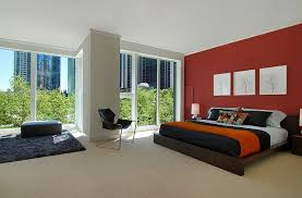 Bedroom Bed Furniture by Red Black And White Interiors Living Rooms Kitchens Bedrooms