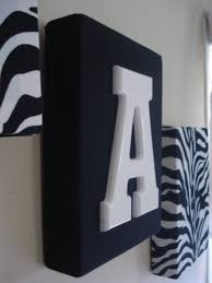 Zebra Home Decorations Awesome Initial Wall Decor Remodel Interior Decoration