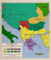 Balkans Map Balkans 1912 Dawn Of The First Balkan War By Zalezsky On Deviantart