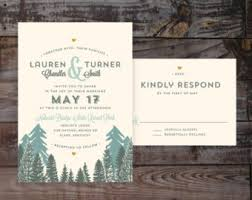 mountain wedding invitations wedding invitations custom wedding invitations by annamalie
