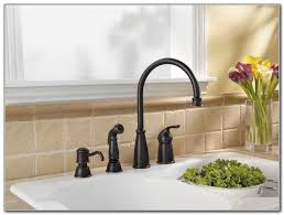 Best Kitchen Faucets 2013 Kitchen Faucet Bronze Flume Rubbed Bronze Single Handle