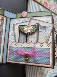 Couverture Album Photo Scrapbooking Tutorial How To Create A Folding Mini Album Freebies For