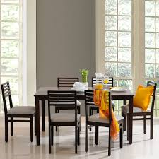 Six Seater Dining Table And Chairs Eastern Six Seater Dining Table Set