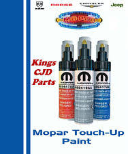 chrysler touch up paint ebay
