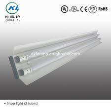 T8 Fluorescent Lighting Fixtures 2ft 4ft 8ft Surface Mounted Commercial T8 Fluorescent Lighting