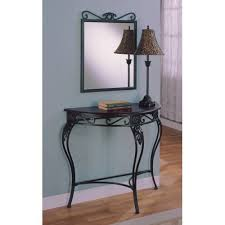 Black Entryway Table 52 Entryway Table And Mirror Set Manor Console Table And
