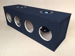 nissan titan sub box custom ported vented sub box subwoofer enclosure for 4 8