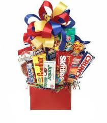 junk food basket junk food galore gift basket idea gourmet candy