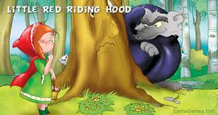 red riding hood short illustrated stories kids
