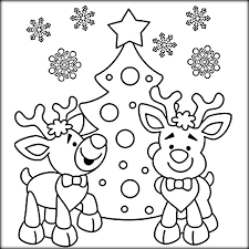 merry christmas coloring pages kids color zini